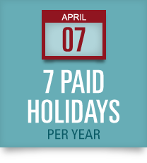 Unidev Paid Holidays