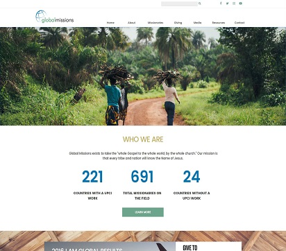 Global Missions Site Image